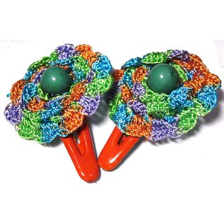 Stylish Crochet Tic Tac Pins - Design  11