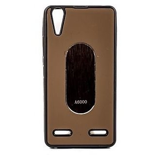 KMS Back Cover For Lenovo A6000 Plus - Brown