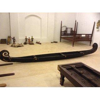 Antique Wooden Home Decorative Boat For Slae In Kerala India Kochi