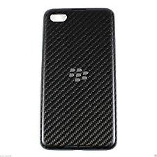 Battery Door Back Case Cover Housing Panel Fascia For Blackberry Z-30 Z 30 Black