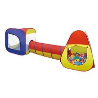 Toys Bhoomi Portable Children's Tunnel Play Tent - 100% Safe Polyester Fabric