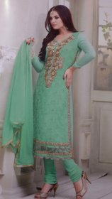 Shagun designer georget semistitch suit