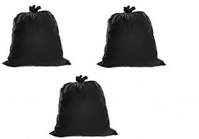 90pcs Disposable Garbage / Dust Bin Bag 19x21 - Black