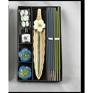 Handmade Aroma Pack-Incense  Floating Candle -Blue