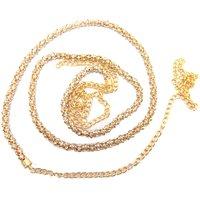 Aria Stylish diamond party wear gold plated jewellery saree waist belt b17