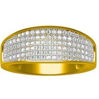 Sakshi Jewels 5.53 Gram 18K Gold 0.64 Carat VVS-FG Diamond Gents Ring.