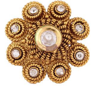 Charming Golden Fingure Ring For Women JSMJWFR0015