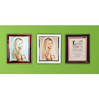 Buy Celebration Wall Hanging Set Of 3 8x10 Photo Frames Online Get
