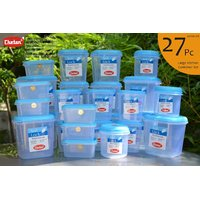 CHETAN 27 PC SET, KITCHEN STORAGE CONTAINERS @ 1699/- ONLY FREE DELIVERY.