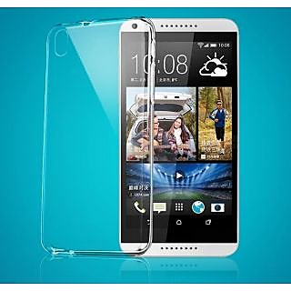 KMS Ultra Thin Back Cover Case for HTC 816 - Clear Transparent