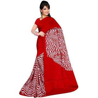 Siddharth Sarees Multicolor Satin Self Design Saree With Blouse