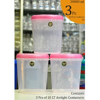 CHETAN 3 PC SET (10 LTR),KITCHEN CONTAINER @ 890/= ONLY FREE DELIVERY.