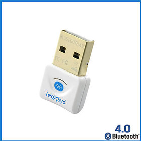 Leoxsys LB4 bluetooth usb adapter dongle low power