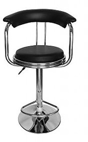 Attractive Bar Chair Black Color Restaurant  Cafe Stool