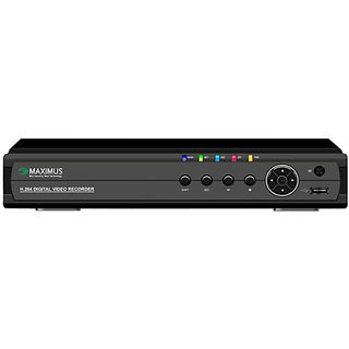 Maximus 4 Channel CCTV DVR with 3G Dongle support  Mobile Viewing (MD044-V)