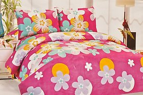 K Décor   Printed Double Bed Sheet (KT-15)