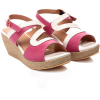 Nell Voguish Ladies Rose Wedges