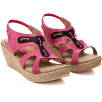 Nell Ladies Rose Wedges