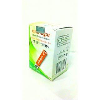 uniSugar Test Strips Pack Of 25 Strips
