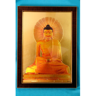 Acrylic frame with acrylic sheet of Lord Budhdha -The Great