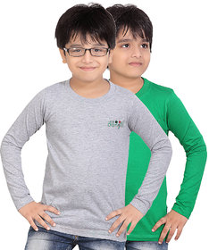 DONGLI BOYS MARVELLOUS FULL SLEEVE T-SHIRT (PACK OF 2)