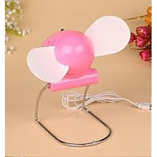 Portable USB or Batteries Operated Fan Air cooling for laptop desktop computer
