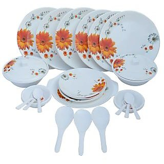 Czar Dine smart stylon 32 pic Dinner set-Sun flower