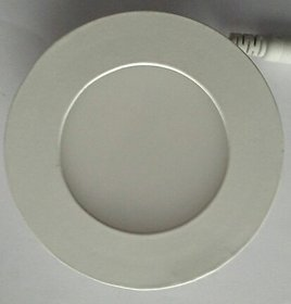 3W Round Panel Light (Man Light 8Pcs.)