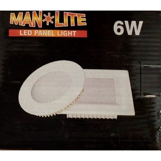 6W Round Panel Light (Man Light 6Pcs.)
