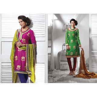 Anarkali salwar kameez bollywood style party wear