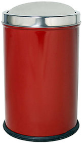 KING INTERNATIONAL - Red Swing bin - 5 Ltr (8