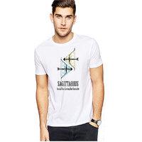 Sagittarius Printed Round Neck T-shirt - Dry Fit