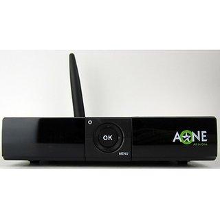 Aone DVB S2 MPEG4 Full HD Inbuilt GPRS Sim Card Slot Satellite Receiver