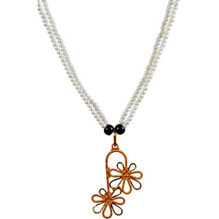 Retaaz BLUME CARESS Junk Necklace