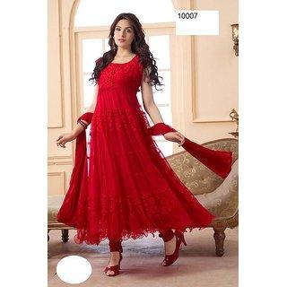 Anarkali Designer Net & Brasso Suit - 10047