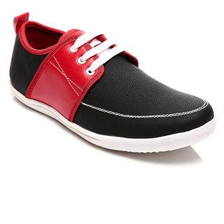Juandavid Gents Black-Red Footwear F-29-BLACK-RED