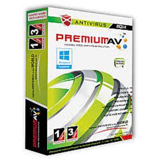 Premium AV 2014 Antivirus 1 User