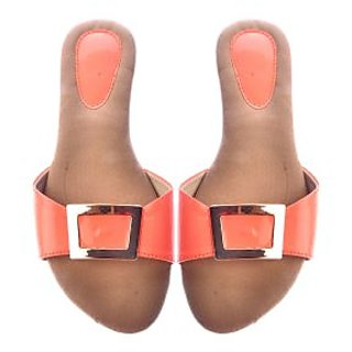 Ladies Sandle peach colours