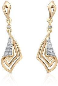 Oviya Gold Plated Glam Destination Earrings