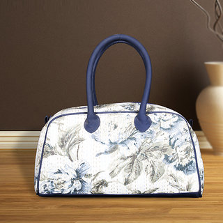 Designer Handbag in White