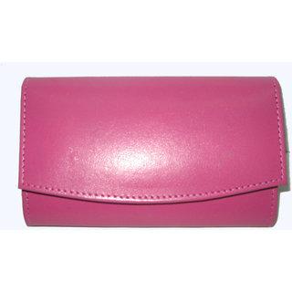 Oiginal Softy Violet Leather Ladies Wallets LW0505PKSOFTY