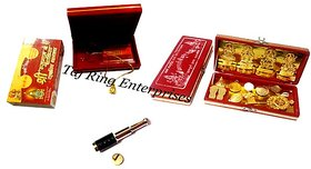 only4you Combo Pack Shri Hanuman Chalisa,Dhan Laxmi Yantra With Brass Telescope