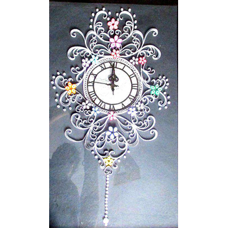 Beautiful Quilled Wall Clock