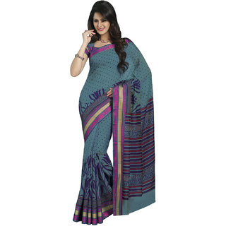 Bhavi Printed Cotton Sari (BHRJ2007)