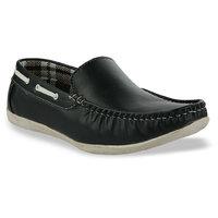 Shoe Island Blue Loafers BABCR3-Blue