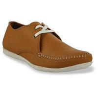 Shoe Island Tan Brown Casual Shoes BUN002-TEEK