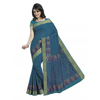 Bhavi Printed Cotton Sari (BHRJ3644)