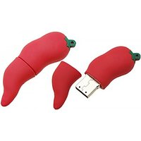 Microware  Hot Chilli Shape Designer Fancy 16Gb Pendriv