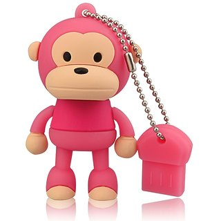 Microware 16Gb Monkey  Shape Designer Fancy Pendrive JKL130