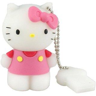 Microware Usb 2.0 4Gb Hello Kitty Pen Drive JKL51